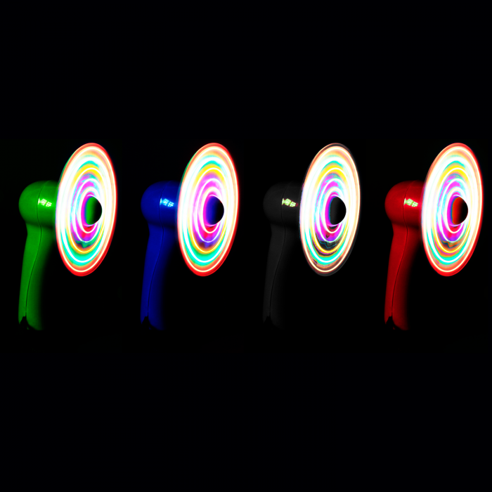 Light-Up Fan Necklaces