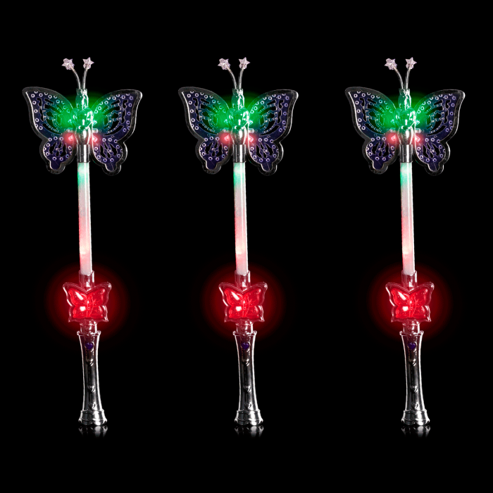 "16"" Light-Up Butterfly Wand"