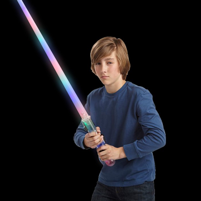 LED Light-Up Magic Rainbow Sword