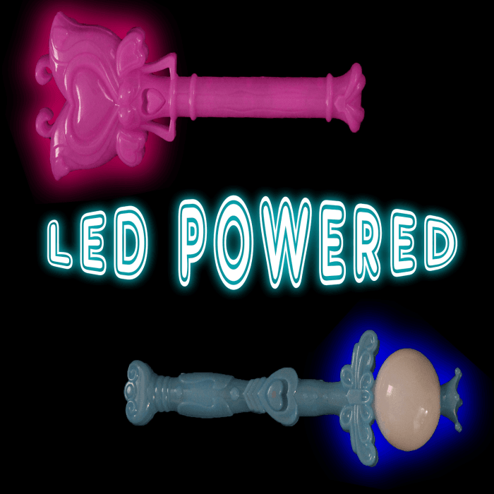 "8"" Light-Up Wands"