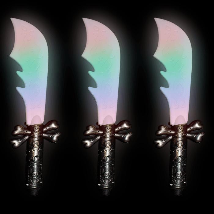 """42"""" Double-Ended Skull Sword"""