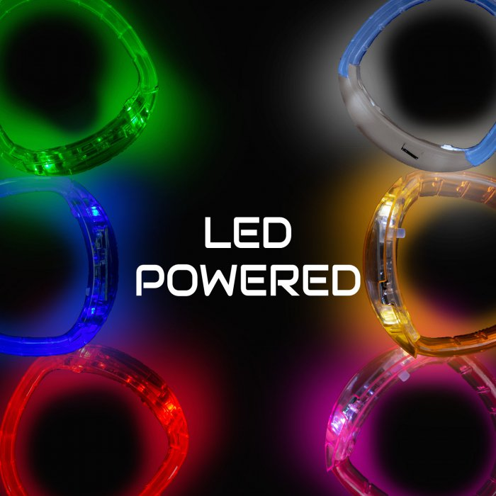 LED Flashing Bracelets