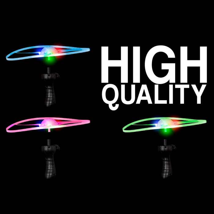 "9.5"" Light-Up Flying Disc"