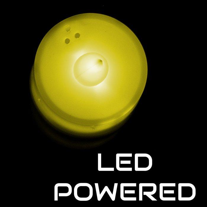 Light Up Tea Light LED Candles- Yellow