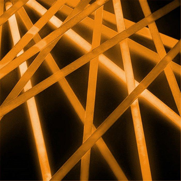 20 Inch Glow Stick Necklaces - Orange