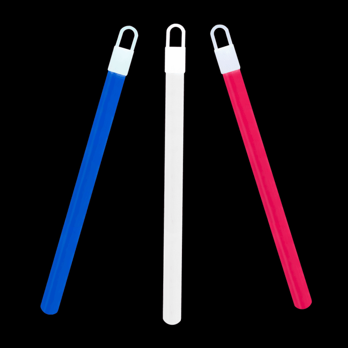 "6"" Standard Glowsticks -Red, White & Blue (72 pack)"