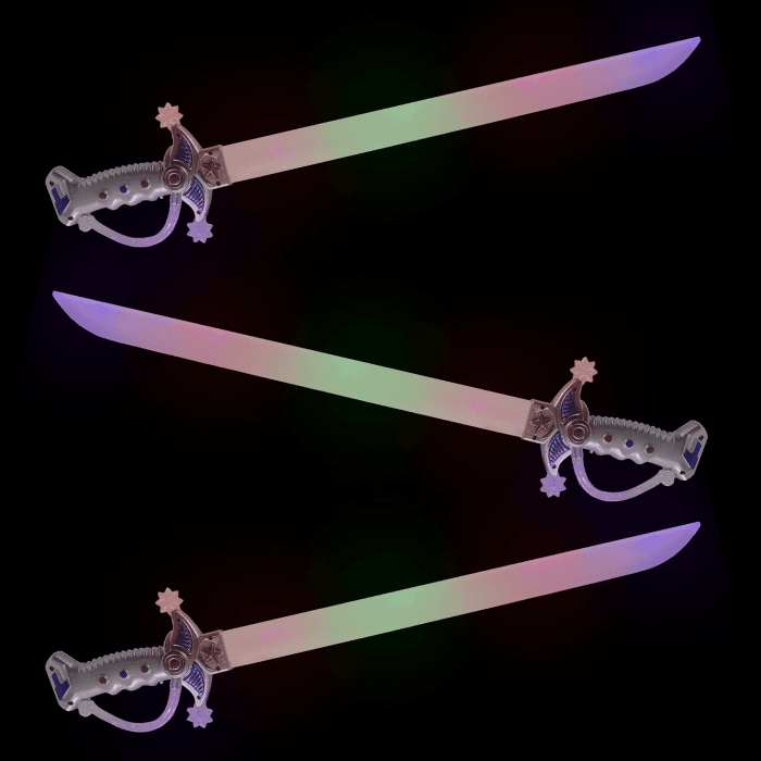 LED Light-up Multicolor Sword