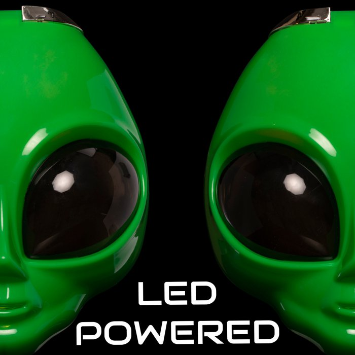 Light-Up Alien Mask