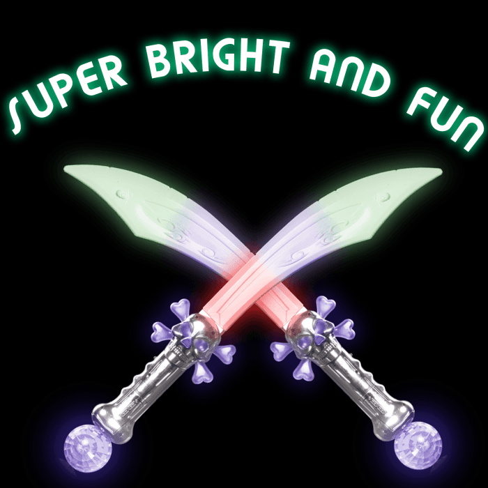 Light-Up Buccaneer Sword