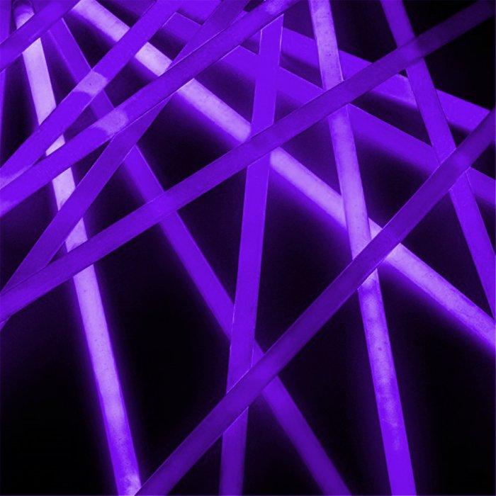 20 Inch Glow Stick Necklaces - Purple