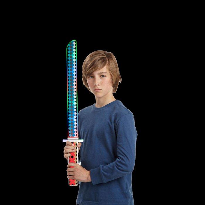 """24"""" Light-Up Ninja Pixel Sword"""